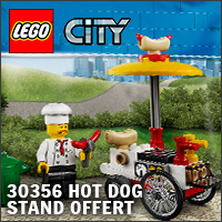Polybag LEGO City 30356 Hot Dog Stand offert !