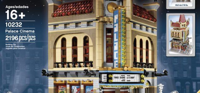 REVIEW LEGO 10232 Creator Expert - Palace Cinema