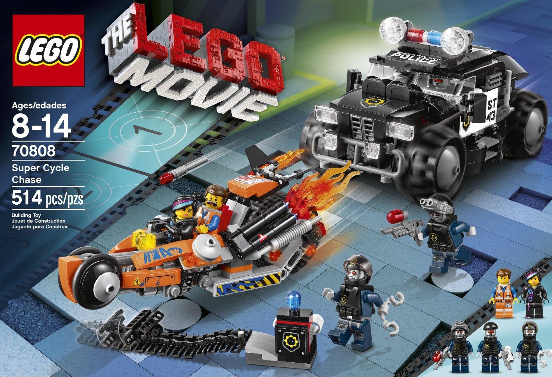 Lego Movie Toys : Review lego movie la super poursuite hellobricks