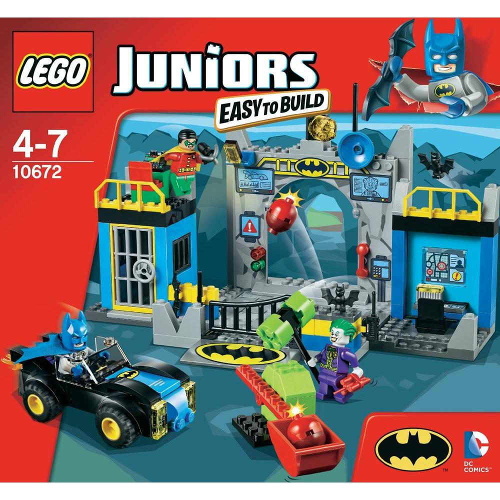 review lego 10672 juniors l attaque de la batcave hellobricks blog lego. Black Bedroom Furniture Sets. Home Design Ideas