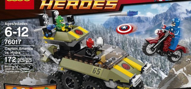 REVIEW LEGO 76017 Marvel Super Heroes – Captain America contre Hydra