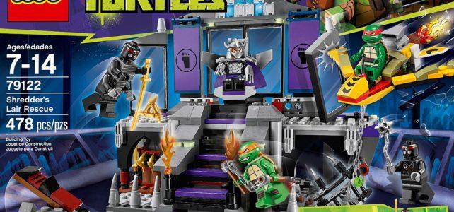 REVIEW LEGO 79122 TMNT – L'échappée de la tanière de Shredder
