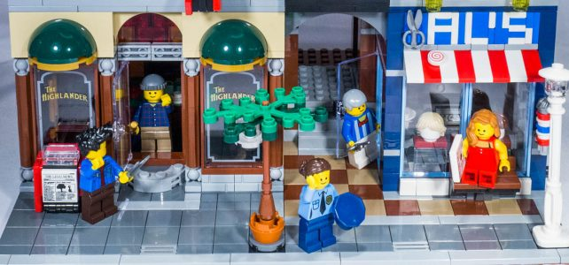 REVIEW LEGO 10246 Creator Expert – Detective's Office