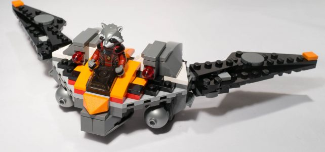 REVIEW LEGO SDCC 2014 – Rocket Raccoon's Warbird