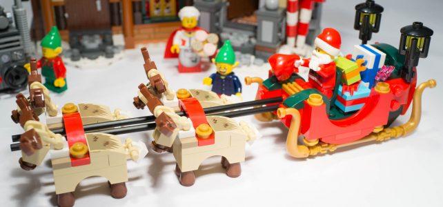 REVIEW LEGO 10245 – L'atelier du Père Noël