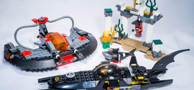 REVIEW LEGO 76027 – DC Comics – Black Manta Deep Sea Strike