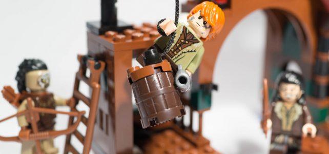 REVIEW LEGO 79016 – The Hobbit – L'attaque de Lac-Ville