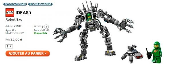 LEGO 21109 Exo