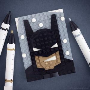 Brick Sketch Batman