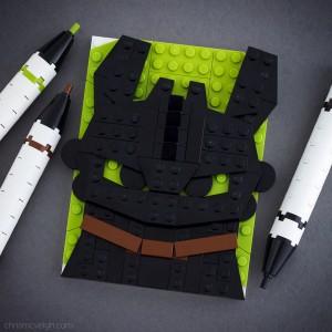 Brick Sketch Dragons