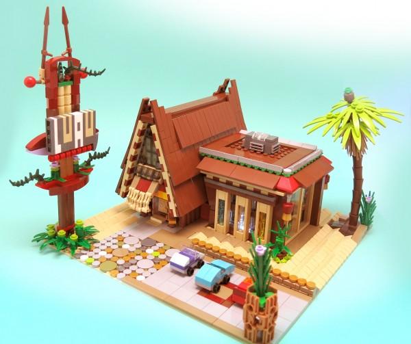 LEGO restaurant hawaien 1