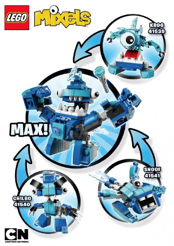 Mixels serie 5 Lixers