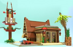 LEGO restaurant hawaien 3