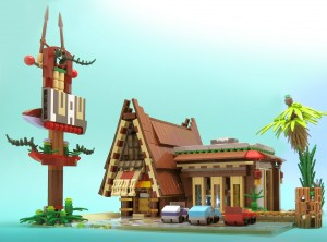 LEGO restaurant hawaien 2
