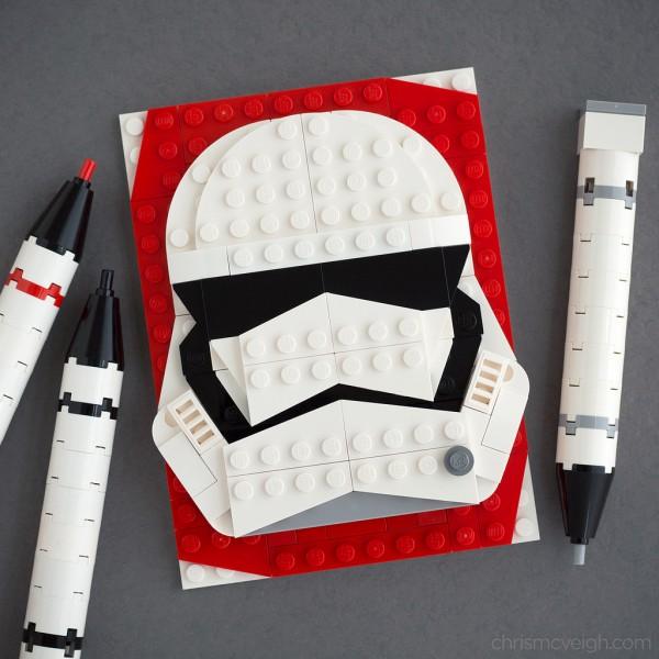 Brick Sketch Stormtrooper