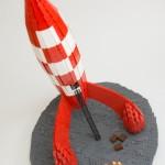 Tintin fusée LEGO 2