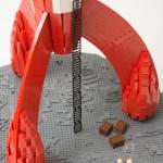 Tintin fusée LEGO 3