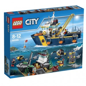 LEGO City Deep Sea Exploration Vessel (60095)