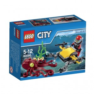 LEGO City Deep Sea Scuba Scooter (60090)