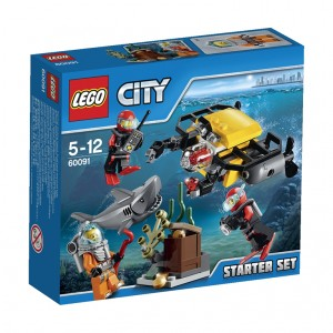 LEGO City Deep Sea Starter Set (60091)