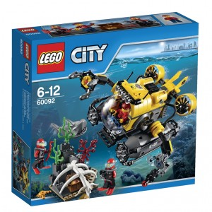 LEGO City Deep Sea Submarine (60092)