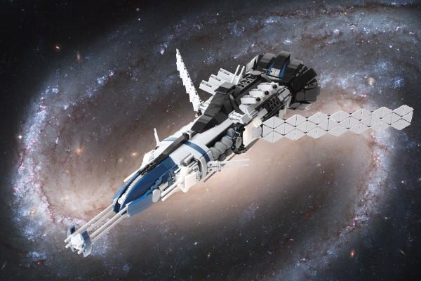 LEGO Galactic Nautilus 1
