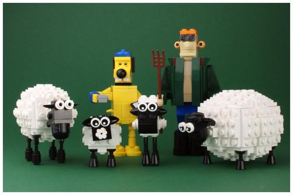 LEGO Shaun le Mouton
