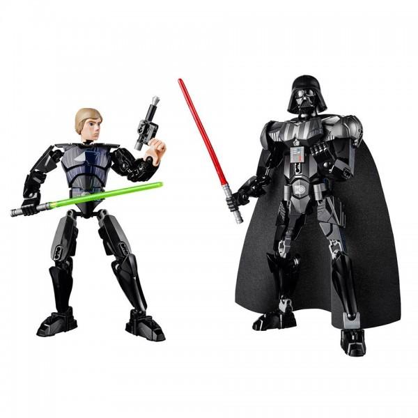 LEGO Star Wars Constraction Figures Luke Skywalker (75110) Darth Vader (75111)