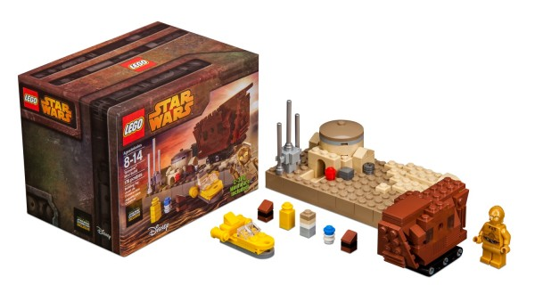 LEGO Tatooine Mini Build