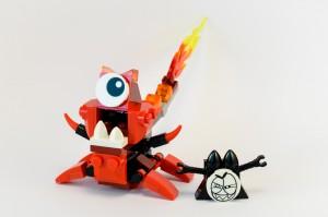 LEGO Mixels Infenites 41531 Flamzer
