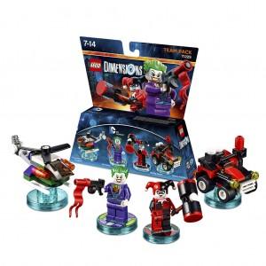 Team pack DC Comics The Joker and Harley Quinn (71229)
