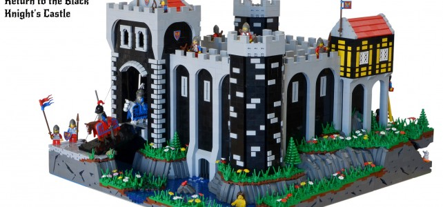 Black Knight's Castle 6086 remake