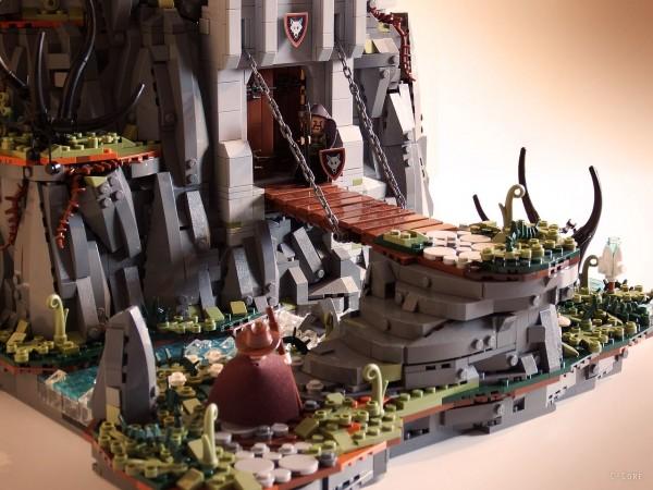 LEGO Monastère des Loups 2