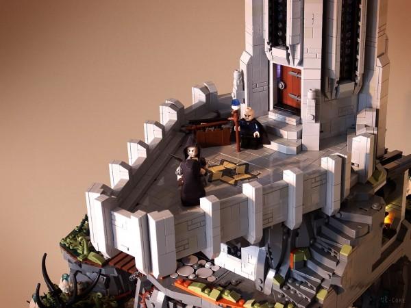 LEGO Monastère des Loups 3
