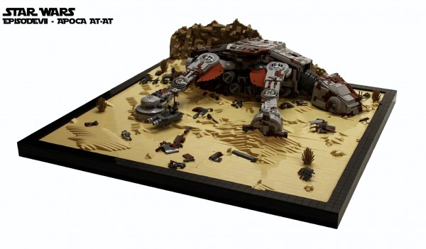 LEGO Star Wars VII Apoca AT-AT 1