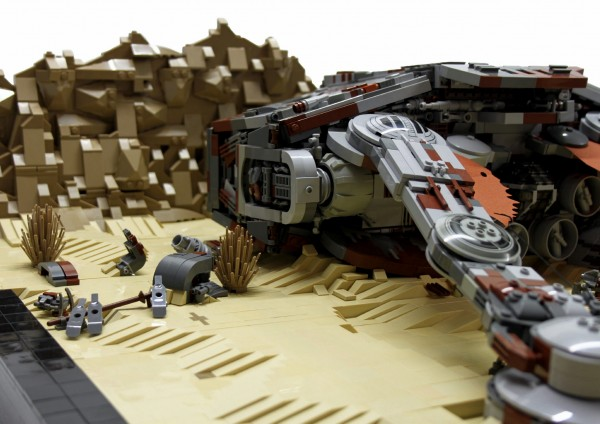 LEGO Star Wars VII Apoca AT-AT 2
