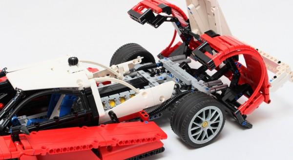 LEGO Technic prototype Le Mans 3
