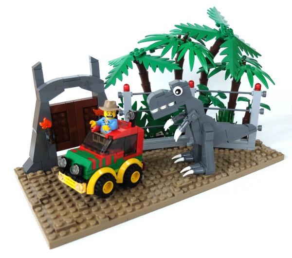 LEGO chibi Jurassic Park 2