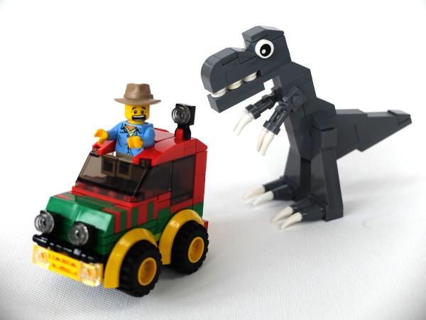 LEGO chibi Jurassic Park