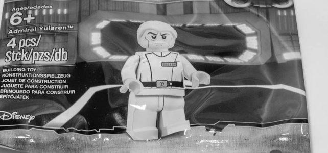REVIEW LEGO Star Wars 5002947 – Admiral Yularen