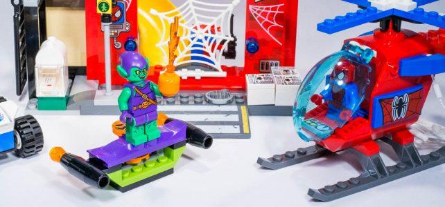 REVIEW LEGO 10687 – Marvel Juniors – La cachette de Spider-man