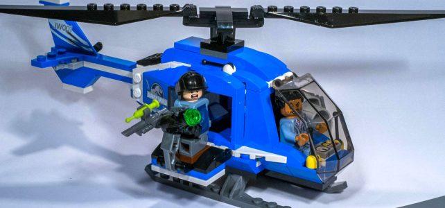 REVIEW LEGO 75915 – Jurassic World – La capture du Pteranodon