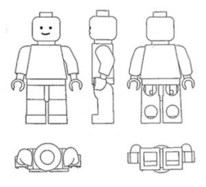 LEGO design des minifigs