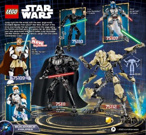 Catalogue S2 2015 Star Wars figures