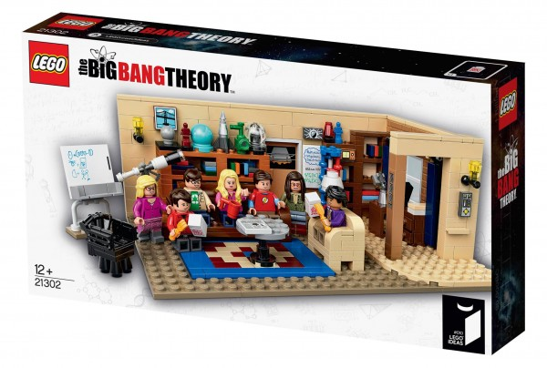 LEGO Ideas #010 The Big Bang Theory box