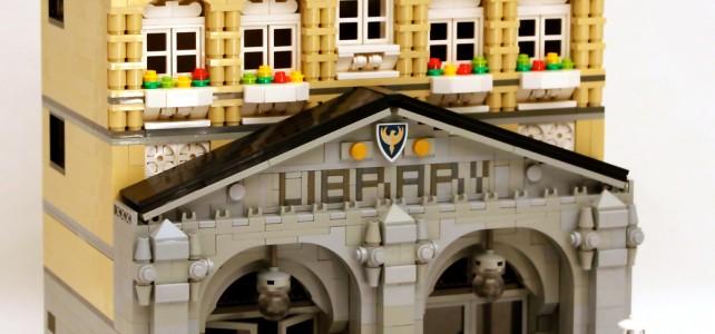 LEGO Ideas Modular Library 01