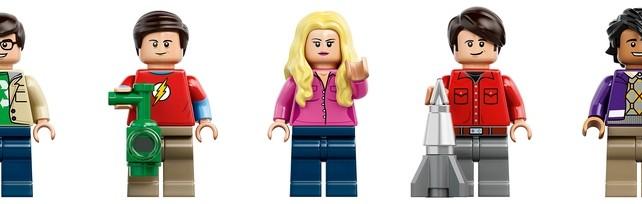 LEGO Ideas The Big Bang Theory (21302) Minifigs