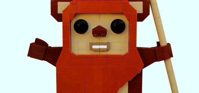 LEGO Star Wars ewok