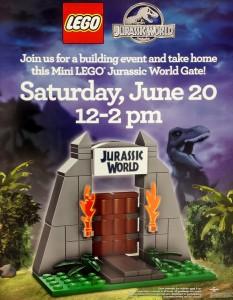 Portail LEGO Jurassic World