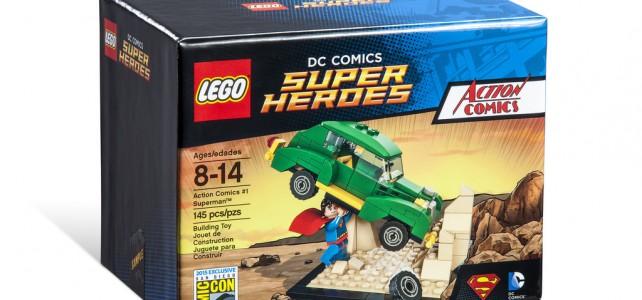 SDCC 2015 LEGO DC Comics Super Heroes Action Comics #1 Superman